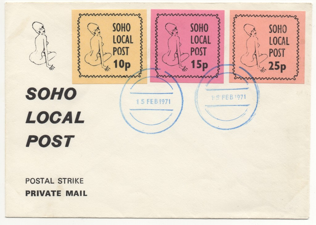 When Soho Local Post - Issued Its Own Stamps