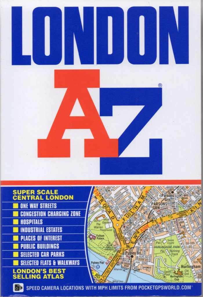 The Real Story of A-Z Maps by Phyllis Pearsall
